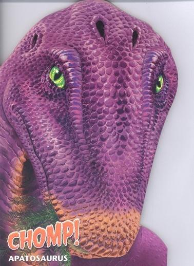 Çiçek Yayıncılık Şekilli Dinozorlar D.-Apatosaurus Renkli